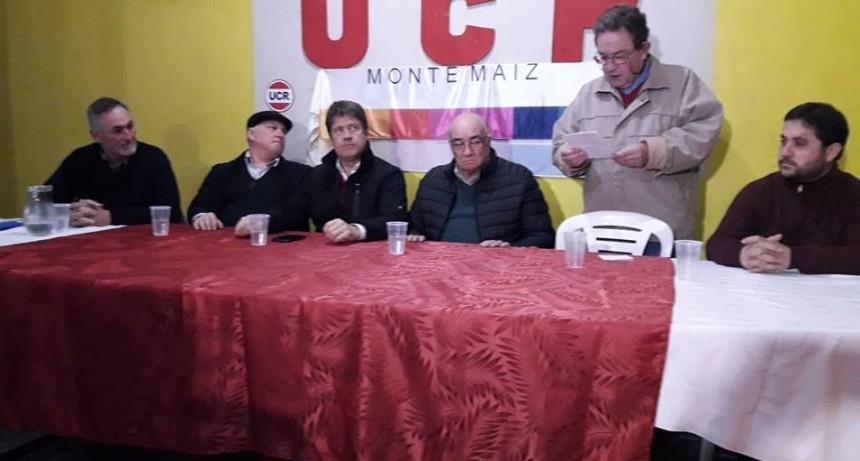 UCR: COMITÉ DEPARTAMENTAL SE REUNIÓ EN MONTE MAÍZ