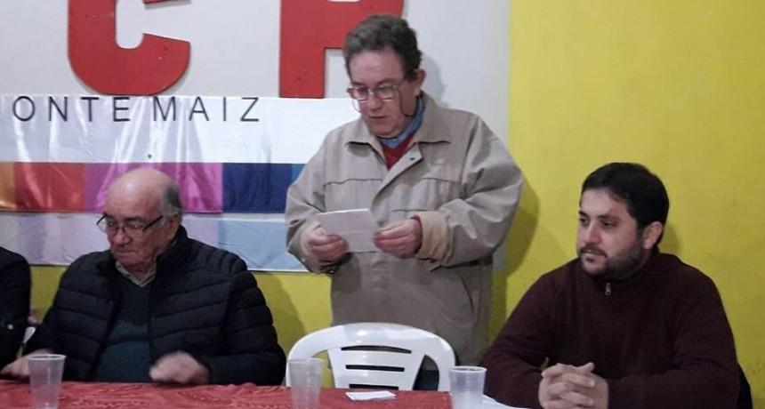 LISTA DE AUTORIDADES DE LA UCR DE MONTE MAÍZ