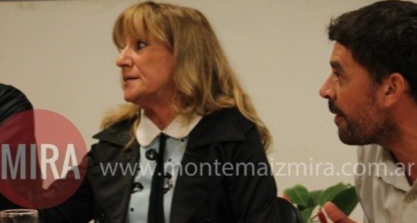 MARÍA LUISA MOTTURA HABLÓ DE LA SESIÓN SUSPENDIDA