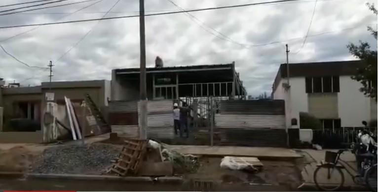 CONSTRUYEN NUEVO TEMPLO SALÓN DEL REINO
