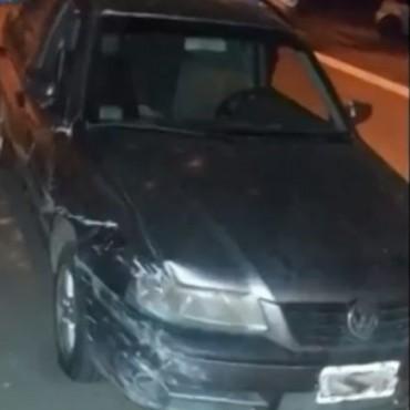 MENOR AL VOLANTE EN ORDÓÑEZ OCASIONÓ ACCIDENTE