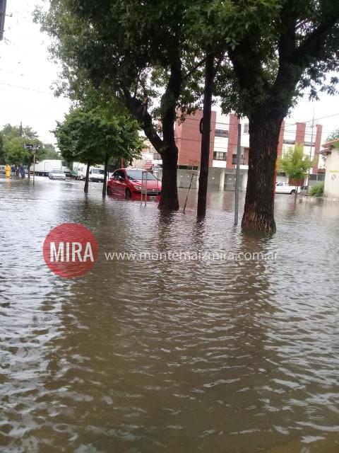 HAY EVACUADOS EN CORRAL DE BUSTOS