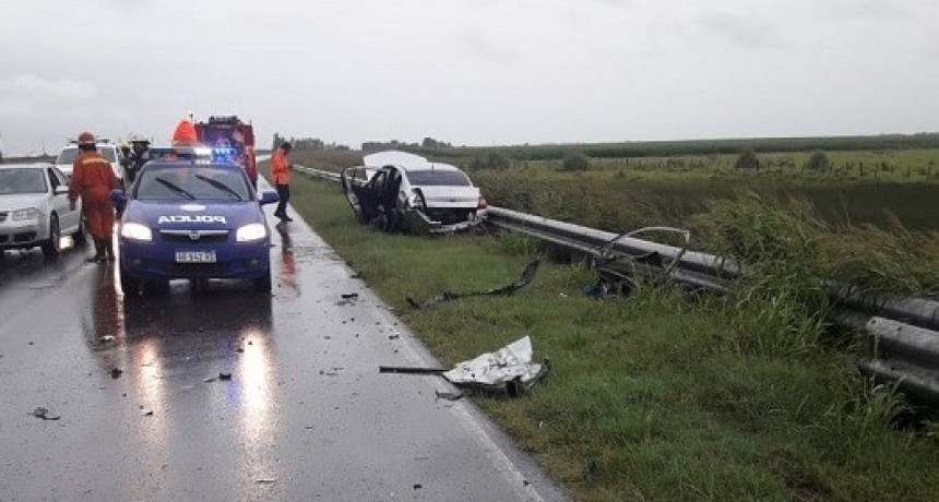 ACCIDENTE DE TRÁNSITO EN RUTA 6