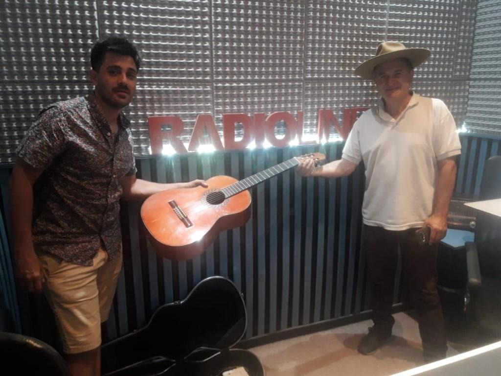 EFRAÍN COLOMBO Y RAÚL PALMA EN RADIO LÍNEA