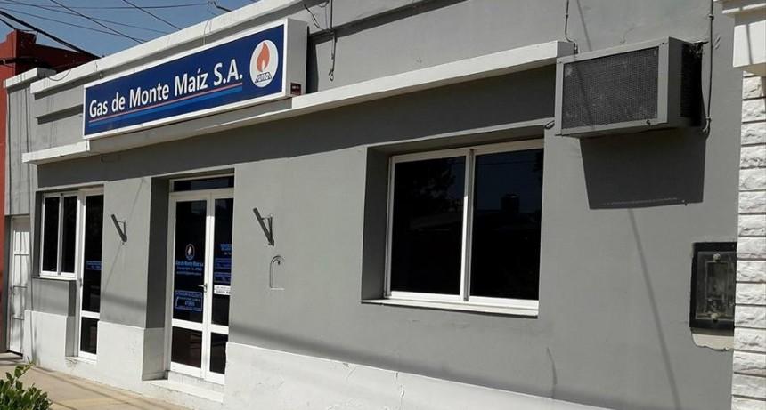 NUEVO DIRECTORIO DE GAS DE MONTE MAÍZ S.A.