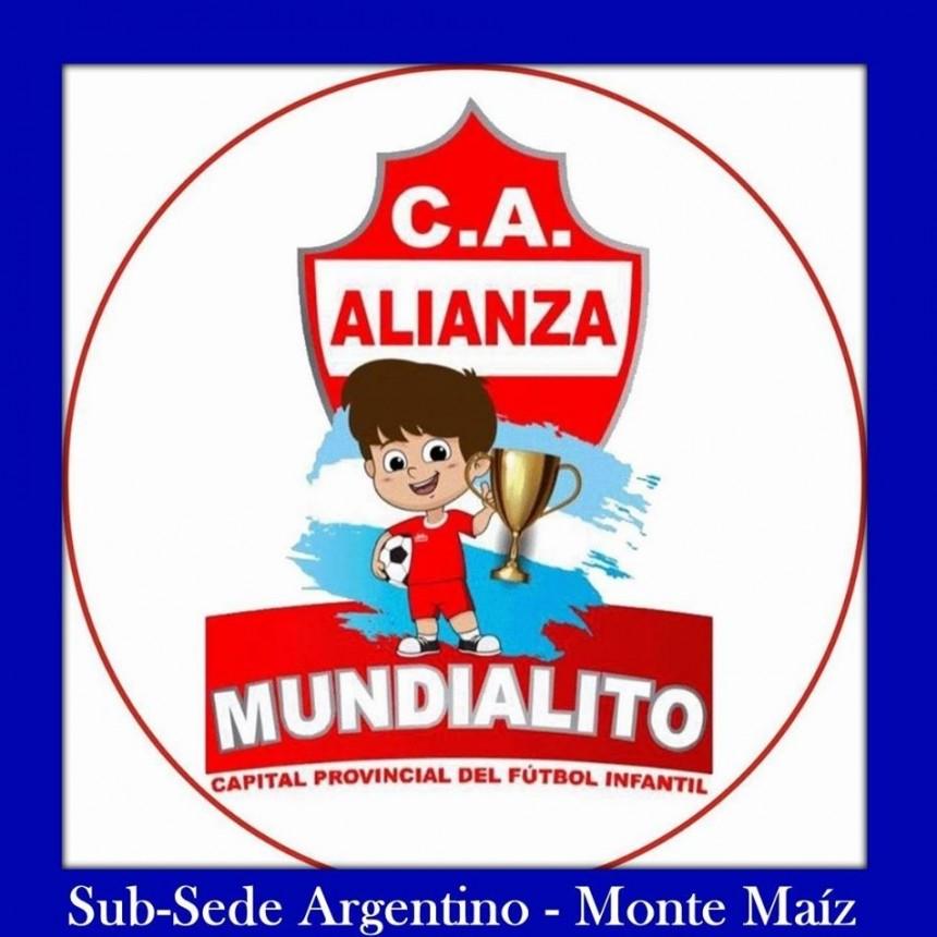 MUNDIALITO DE ARTEAGA EN ARGENTINO
