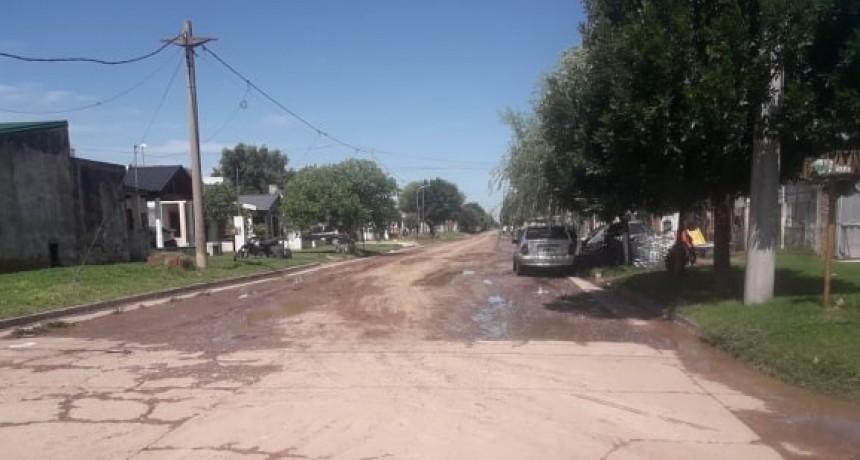 CALLES DE TIERRA EN MAL ESTADO