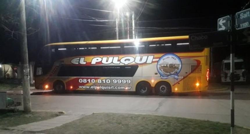 EL PULQUI REDUJO FRECUENCIAS A BUENOS AIRES