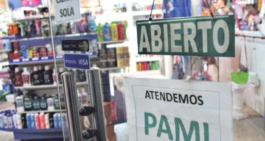 FARMACIAS SIGUEN BRINDANDO PRESTACIONES DE PAMI