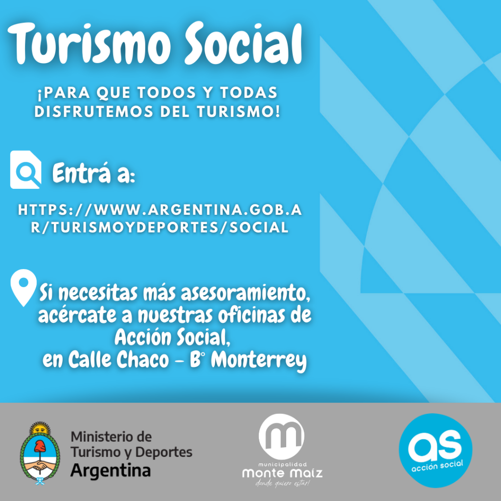 TURISMO SOCIAL PARA TODOS