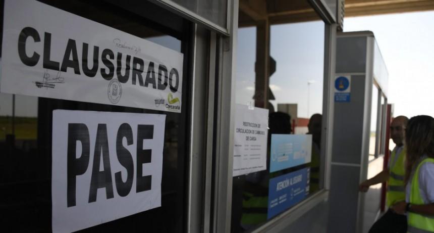 CLAUSURARON EL PEAJE DE CARCARAÑÁ