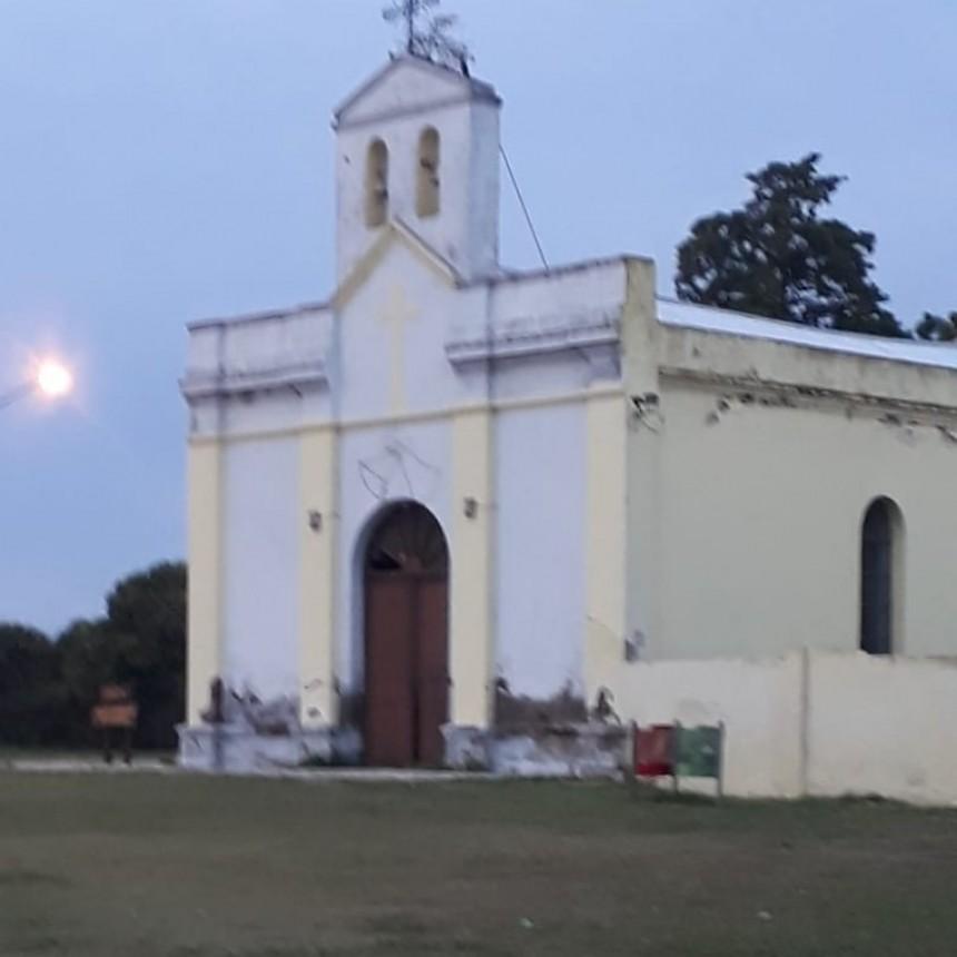 CAPILLA DE COLONIA BARGE: GRAVES DAÑOS EDILICIOS