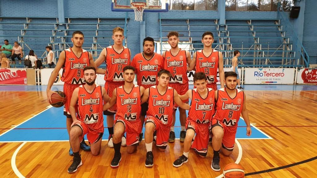 U19 DE LAMBERT JUGÓ EN RÍO TERCERO