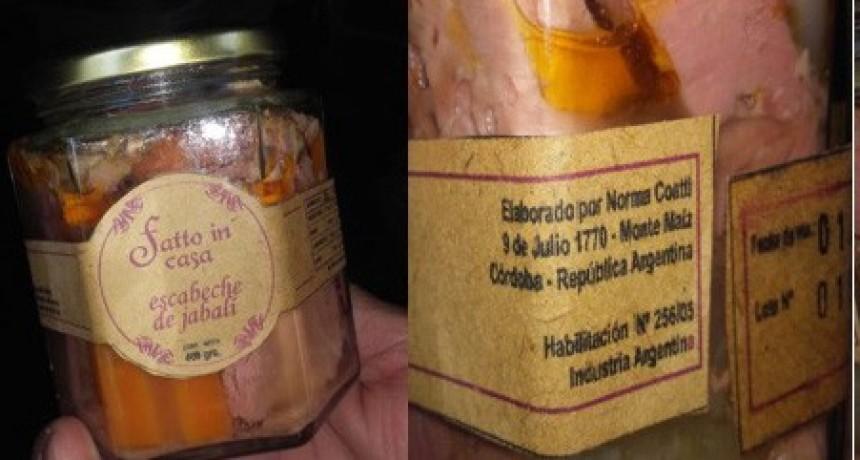 RESOLUCIÓN OFICIAL SOBRE ESCABECHES FATTO IN CASA