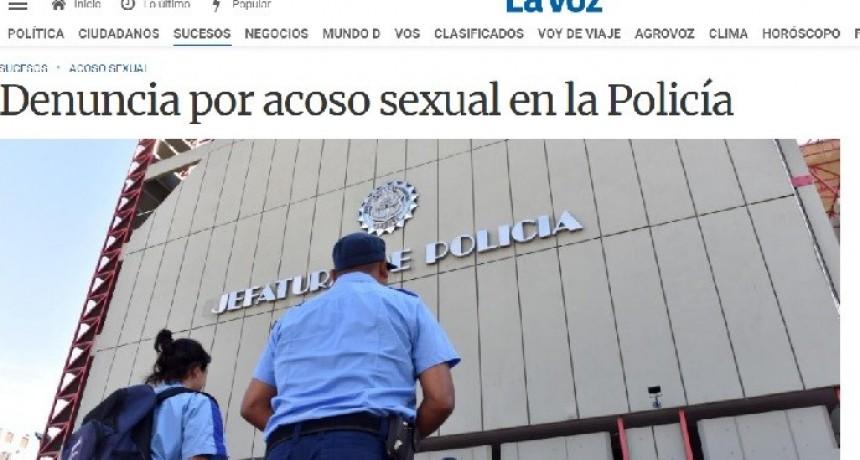 COMISARIO INSPECTOR DENUNCIADO POR ACOSO SEXUAL