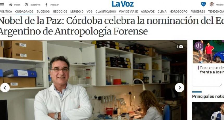 ANTROPÓLOGOS FORENSES NOMINADOS AL NOBEL DE LA PAZ
