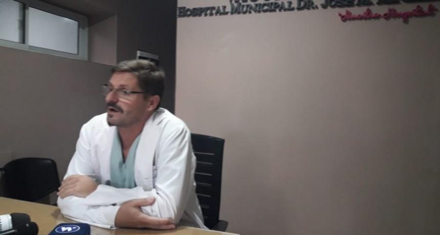 DR. CHÍAS: UN MES COMO DIRECTOR DEL HOSPITAL
