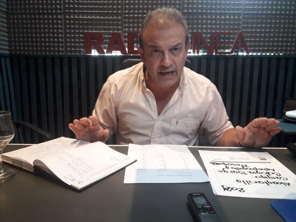 EDUARDO RÍOS LE RESPONDIÓ AL CONCEJAL CERVIGNI