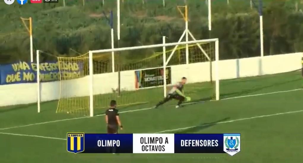 OLIMPO PASÓ A CUARTOS DE FINAL