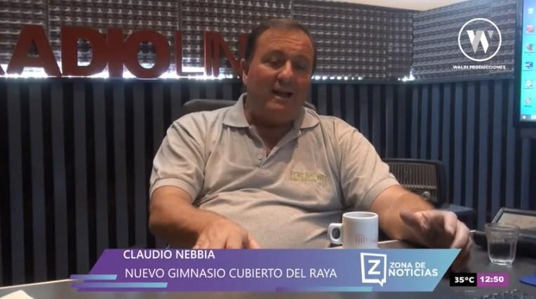 EL RAYA EMBALADO CON EL NUEVO GIMNASIO CUBIERTO