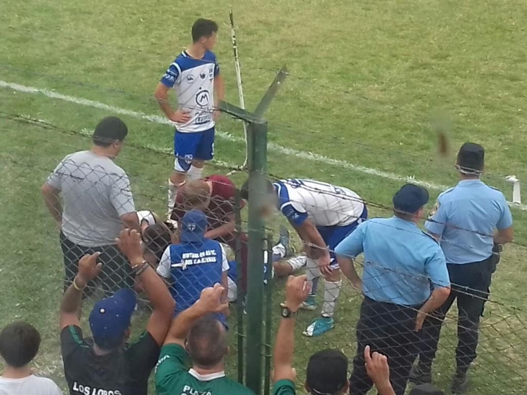 FEDERAL C: JUGADOR DE ATENAS  RECIBIÓ HIELAZO