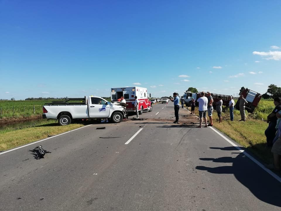 WENCESLAO ESCALANTE: ACCIDENTE EN RUTA 3