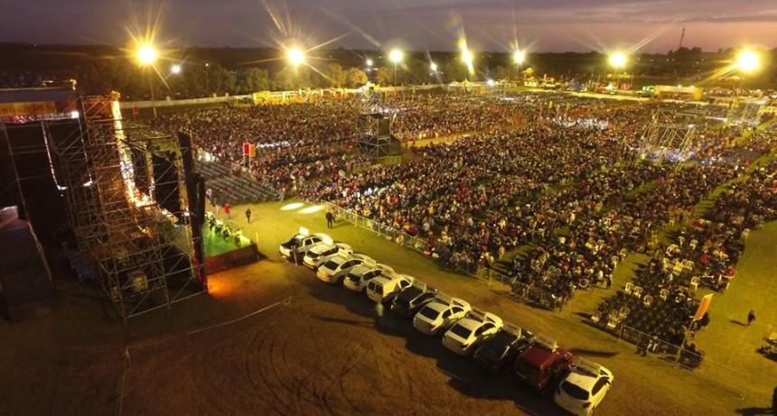 23.000 PERSONAS PRESENCIARON EL SORTEO DEL GAUCHITO
