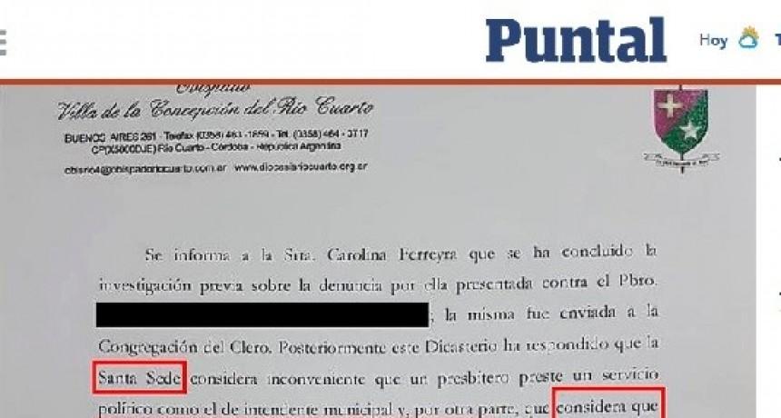 EL CASO DEL CURA ABUSADOR EN EL DIARIO EL PUNTAL