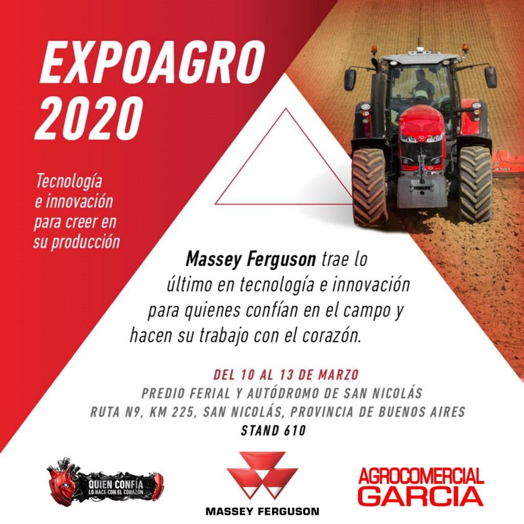 AGROCOMERCIAL GARCÍA EN EXPOAGRO 2020