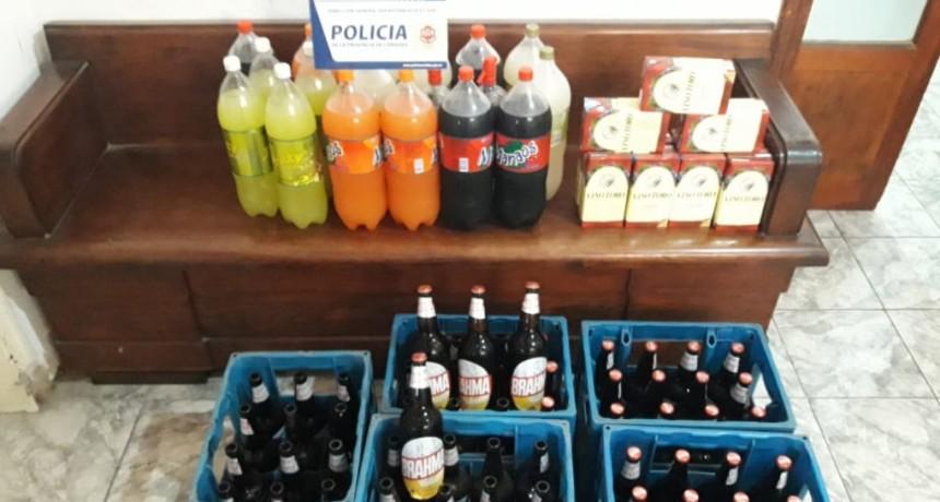MUJER IMPUTADA POR EXPENDIO DE BEBIDAS ALCOHÓLICAS