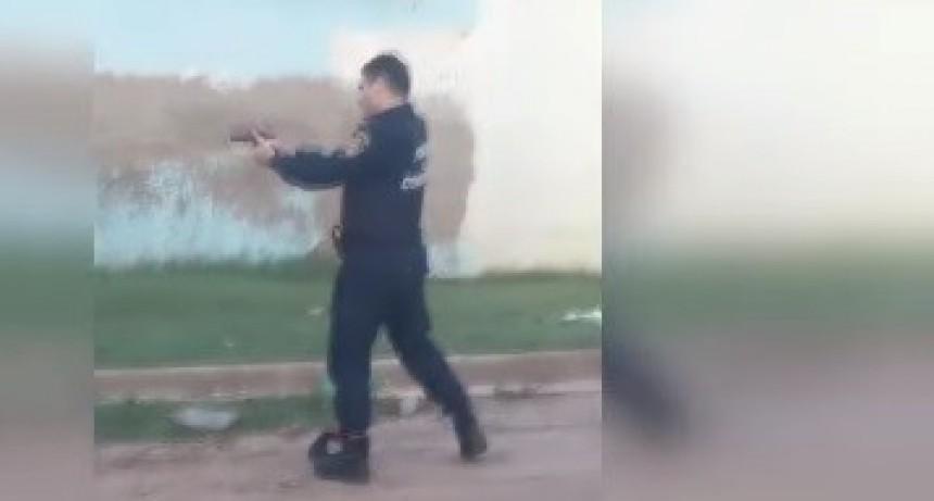 POLICÍA DISPARÓ CONTRA MASCULINO TRAS UN FORCEJEO