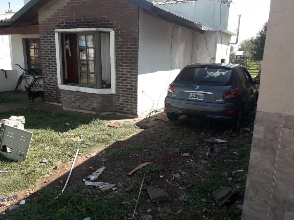 DIERON DE ALTA A PERSONA HERIDA EN BARRIO GOBATO