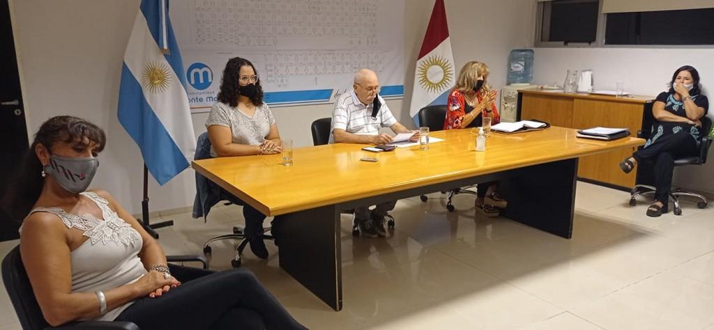 EL INTENDENTE INAUGURÓ LAS SESIONES ORDINARIAS 2021