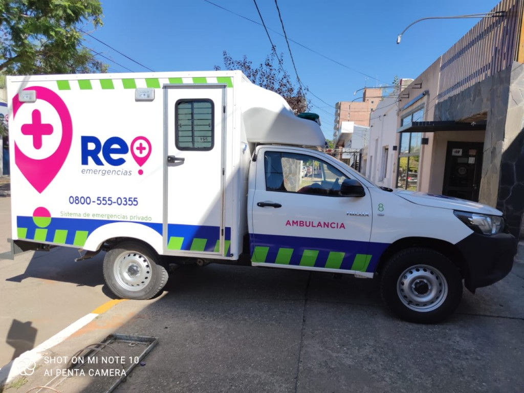 NUEVA AMBULANCIA DE RE EMERGENCIAS