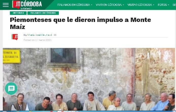 MONTE MAÍZ SIGUE CONTANDO HISTORIAS