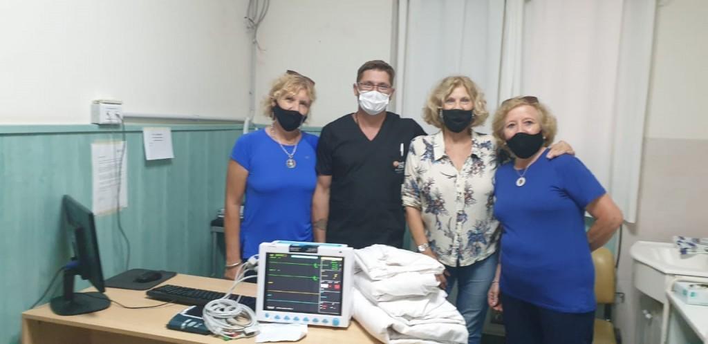 DONACIÓN DE UN MULTIPARAMÉTRICO PARA EL HOSPITAL