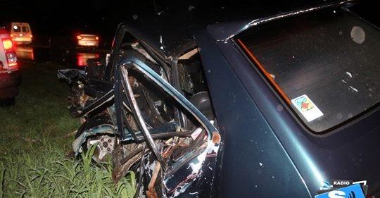 CHOQUE DE FRENTE ENTRE AUTO Y CAMIÓN: UN MUERTO