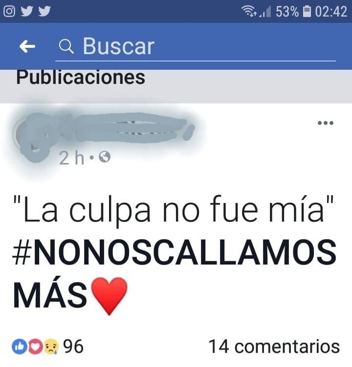 CASO DE ABUSO SEXUAL: MÁS DATOS SOBRE EL HECHO