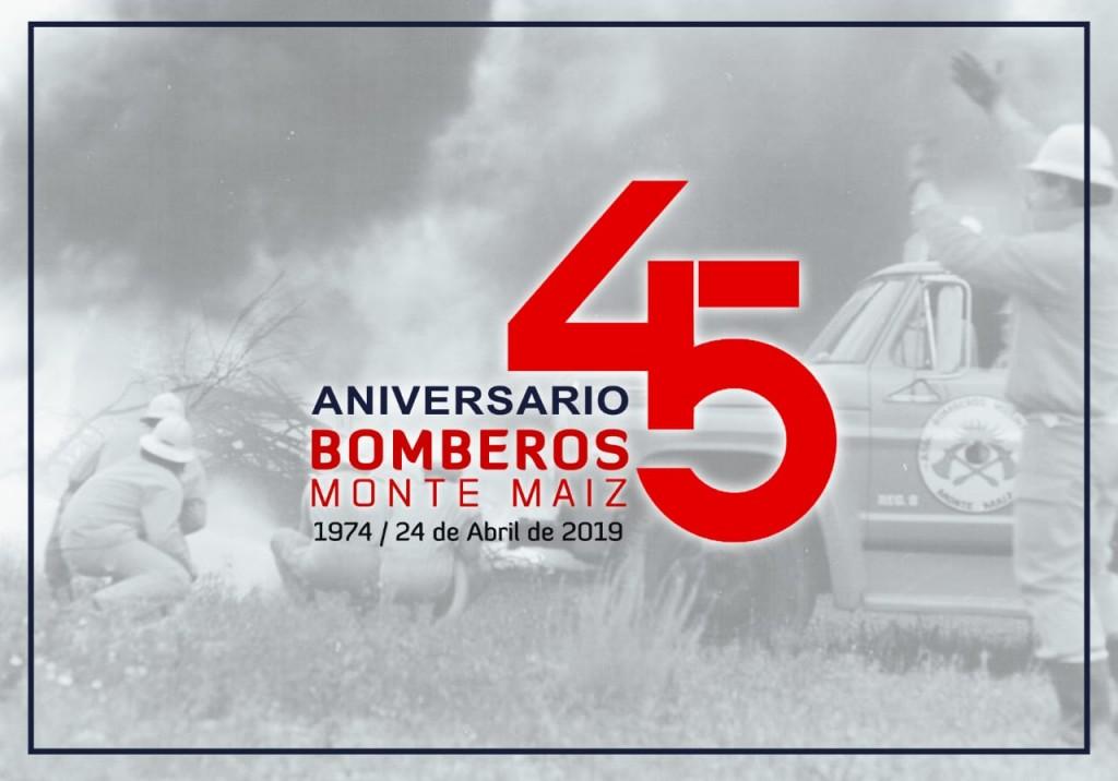 COMIENZAN LOS FESTEJOS POR LOS 45 AÑOS DE BOMBEROS