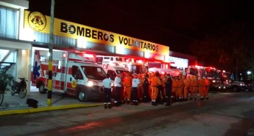 45° ANIVERSARIO DE BOMBEROS: COMENZARON LOS FESTEJOS