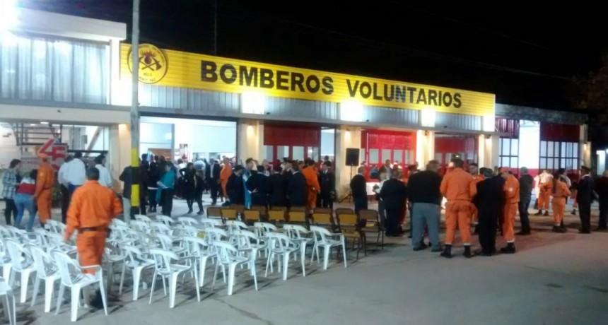 ACTO Y CENA POR LOS 45 AÑOS DE BOMBEROS