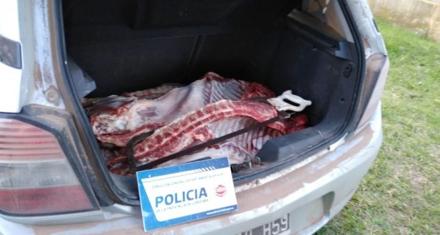 VIOLACIÓN DE CUARENTENA Y FAENA CLANDESTINA