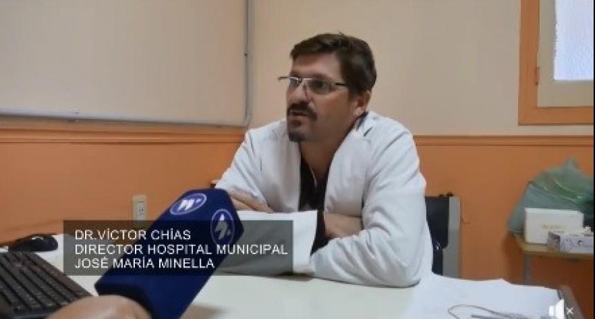 POCAS DOSIS DE VACUNA ANTIGRIPAL EN EL HOSPITAL
