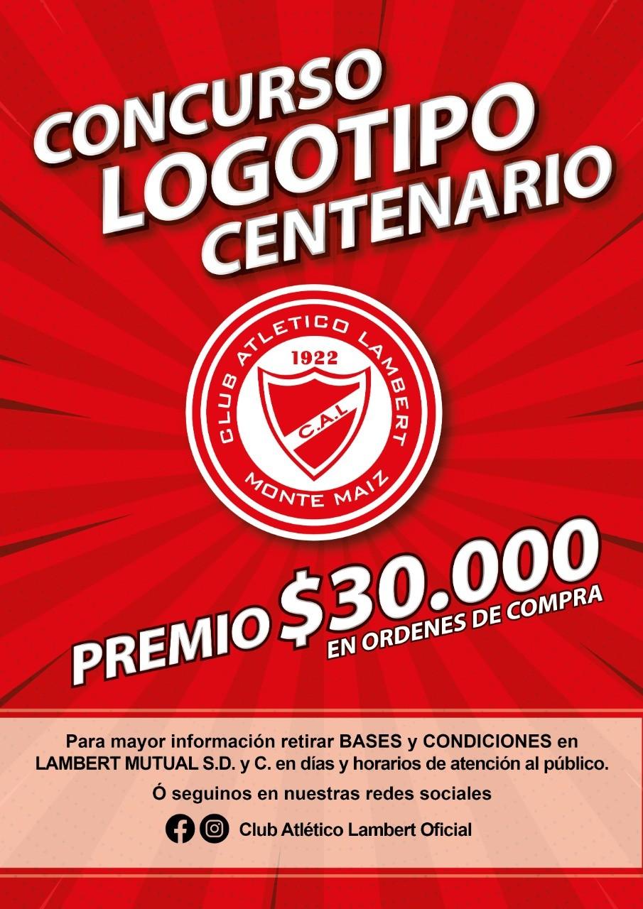 LAMBERT BUSCA EL LOGO DEL CENTENARIO