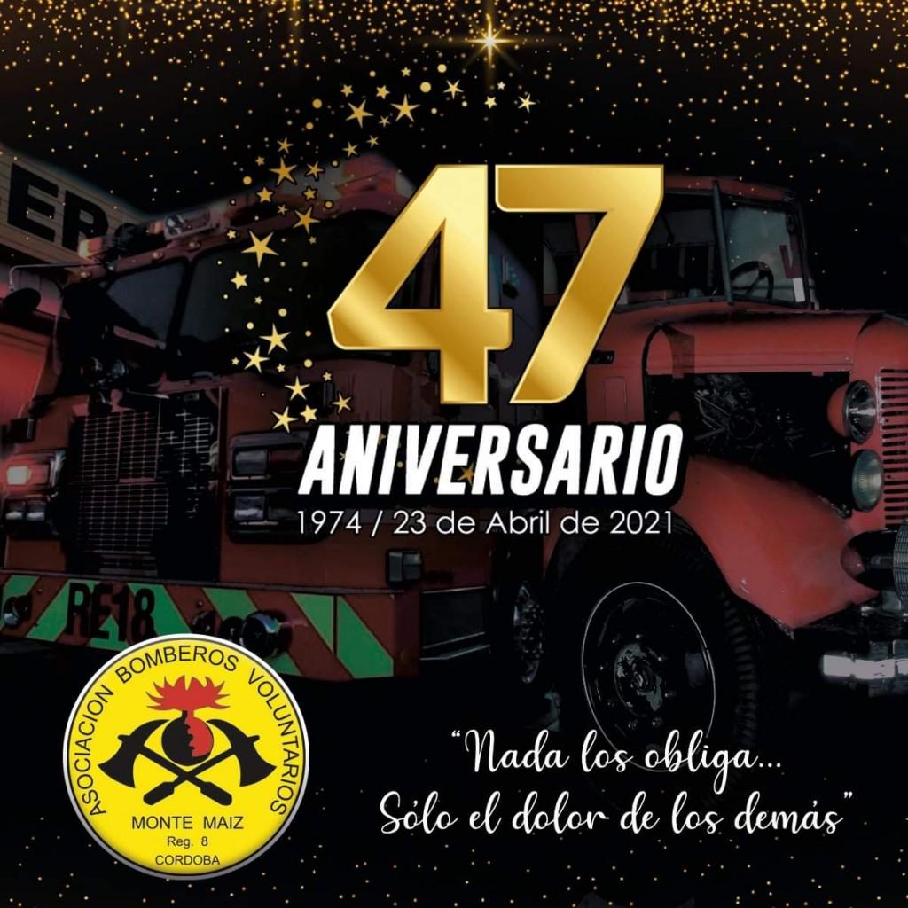 LOS BOMBEROS CUMPLEN 47 AÑOS AL SERVICIO DEL PUEBLO