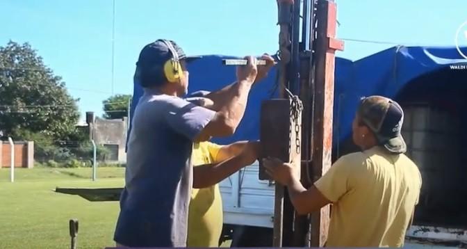 EL GIMNASIO NUEVO DE ARGENTINO NECESITARÁ PILOTES