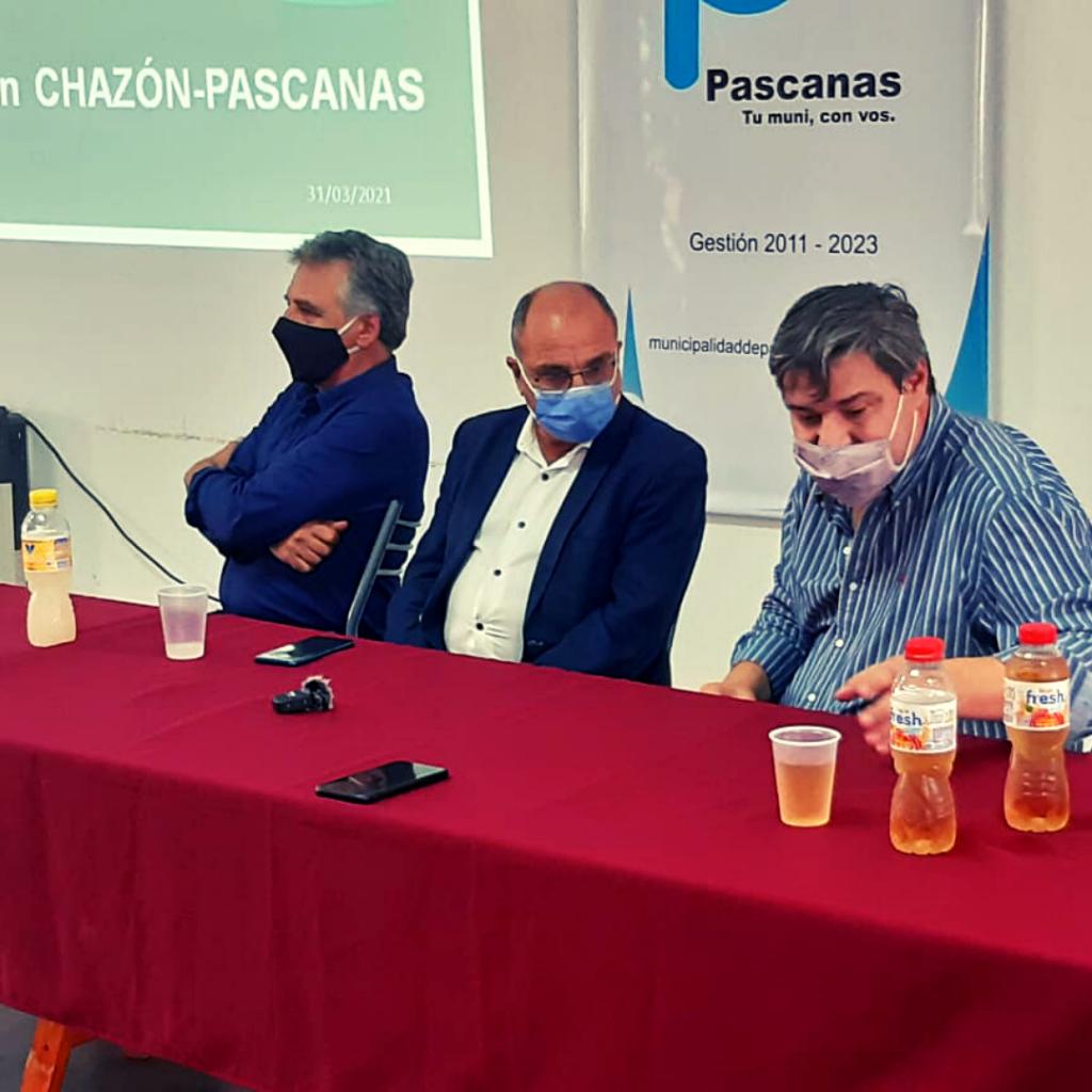 REUNIÓN ENTRE EPEC Y PYMES EN PASCANAS