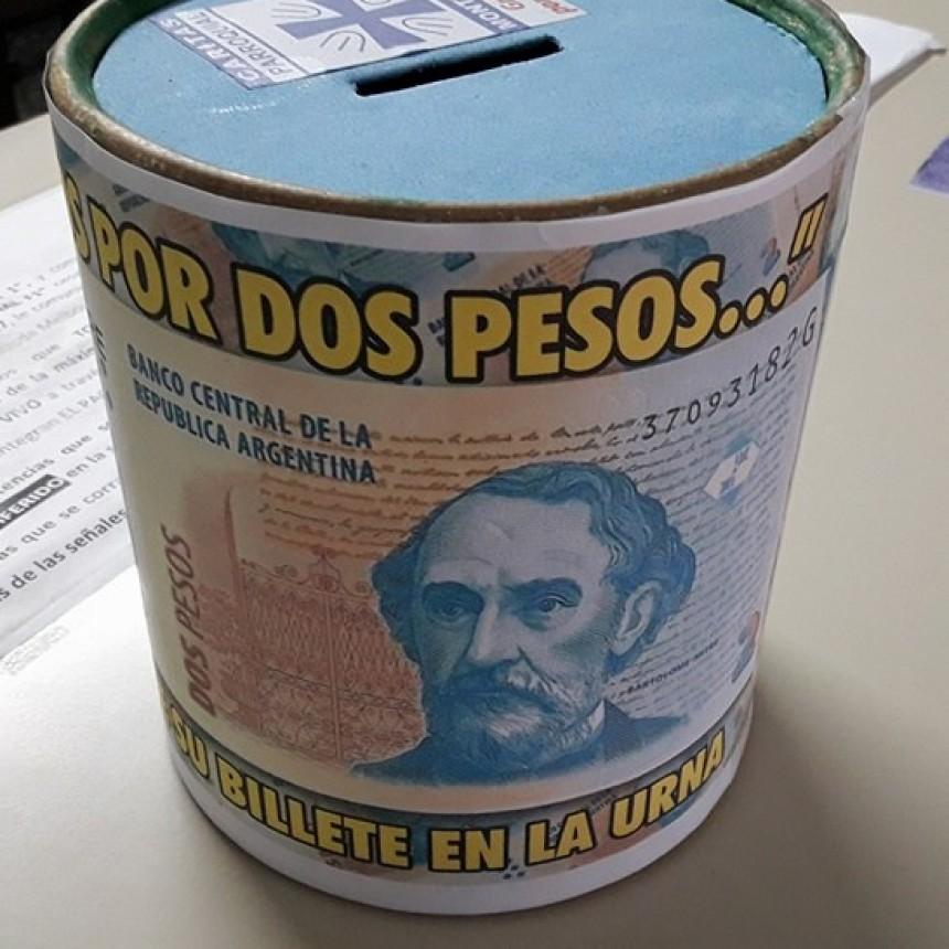 RECAUDACIÓN DE CÁRITAS: TODOS POR DOS PESOS