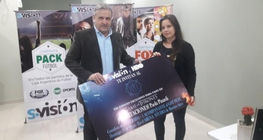 ABONADA DE S VISIÓN PARTICIPARÁ DE LA GOT FEST