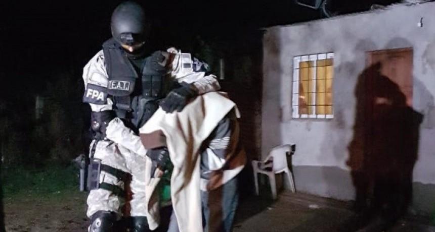 LABOULAYE: CUATRO DETENIDOS POR LA FPA